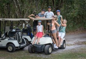 Golf crew